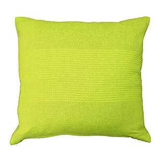 Nuances Du Monde Cushion Cover 40X40 Coton TISSE Lana ANIS, Green
