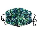 Louis Berry Staubmaske, wiederverwendbar, für Männer und Frauen, Sukkulenten Pflanzen, Mundmaske, Unisex