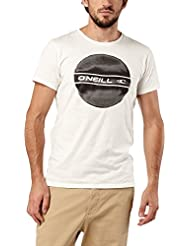 O'Neill Cercle Logo Placement T-shirt Homme, Blanc