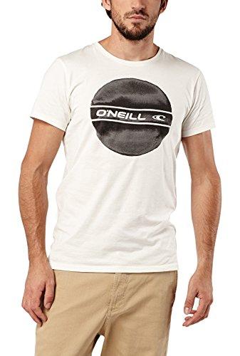 O'Neill LM Circle Logo T-shirt-T-shirt  Uomo    Bianco Bianco L