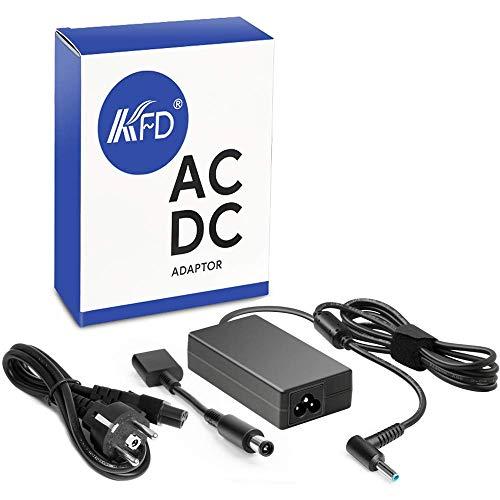 KFD 65W Cargador Adaptador de Corriente para HP 255 250 450 455 612 640 645 650 745 820 840 850 G1 G2 G3 G4 G5 G6 Pavilion G4 G6 G7 M6 DV4 DV5 DV6 DV7 G60 G72 15-da1014ns 15-db0045ns 19.5V 3.33A