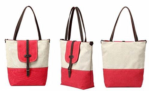 Auspicious beginning Splice adretten Art einfaches Design Mode Cross Body Buchtasche Orange Handtasche Rot