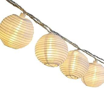 gresonic 20er led lichterkette lampion laternen deko f r garten weihnachten party hochzeit innen. Black Bedroom Furniture Sets. Home Design Ideas