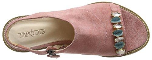 TAPODTS Tina 2, Sandales ouvertes femme Rose - Pink (673 rose)