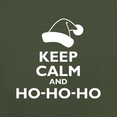 Keep Calm and Ho-Ho-Ho - Herren T-Shirt - 13 Farben Olivgrün