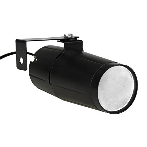 TSSS 3W LED StrahlScheinwerfer Pinspot Bühnenlicht Lichteffekt DJ anzeigen Disco Bar Pub Hochzeitsfest KTV Helle Spot Licht Weiß (1 Stück) -