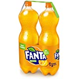 Fanta Naranja refresco - Pack de 2 x 2 l - Total: 4 l