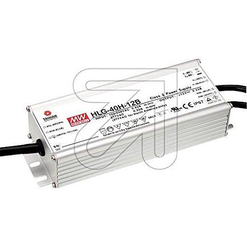 Vorschaltgerät IP67 12V-DC / 1-39W, dimm HLG-40H-12B (Dimm-vorschaltgerät 1)