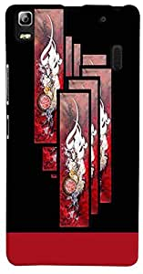 PrintVisa Pattern Abstract Design Case Cover for Lenovo A7000