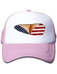 Fake desnudo Big pecho sujetador la bandera americana bebé protector solar  gorra sombrero estilo gran para 5b2ee1b004d6