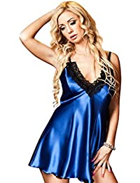 "Nine X- babydoll en satin, S - 6XL, beaucoup de couleurs ""Maidie"" babydoll"