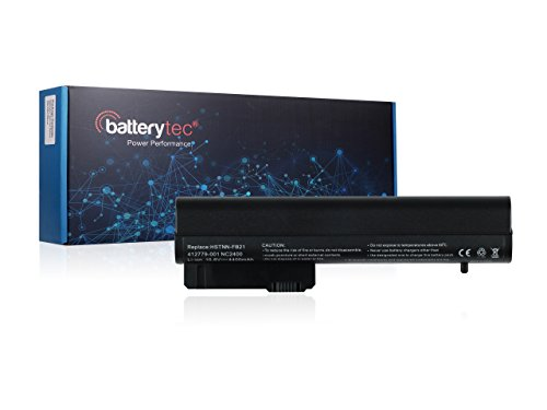 Batterytec® Laptop Akku für HP COMPAQ Business Notebook 2400 2510P NC2400, HP 2533t Mobile Thin Client, HP EliteBook 2530P 2540P, HSTNN-DB23, HSTNN-FB21, HSTNN-XB21, HSTNN-XB22, RW556AA, EH767AA, EH768AA, HSTNN-DB22, EH768UT, HSTNN-XB23, KU529AA, 404887-241, 404888-241, 411126-001, 411127-001, 412779-001, 441675-001, 412789-001, 484784-001. [10.8V 4400mAh,12 Monate Herstellergarantie]