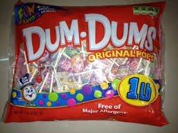 - Dum Dums Original Pops**JUMBO 453g Beutel**Lutscher aus USA**verschiedene Sorten
