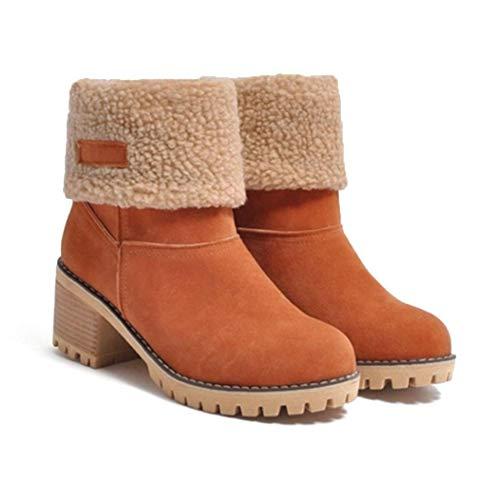 Stivali Invernali Tacco Alto da Donna