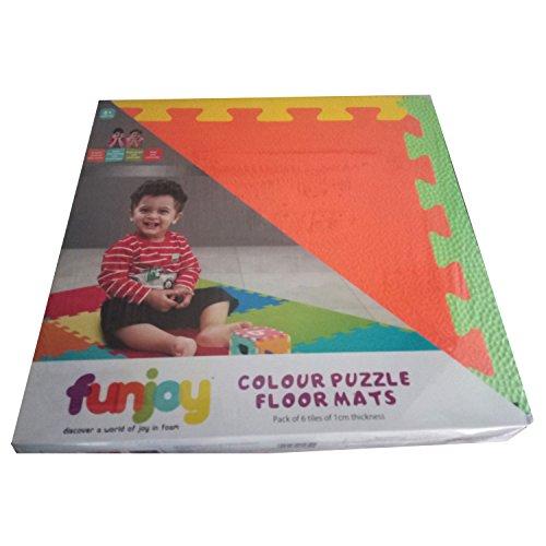 Funjoy Colour Puzzle Floor Mats