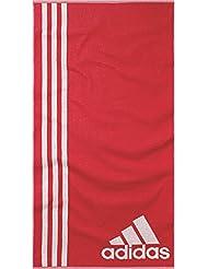 adidas-Toalla Natación L Ray Ray Rojo/Blanco