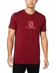 SALOMON Coton Logo SS Tee T-Shirt Homme
