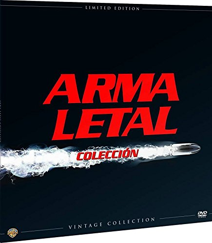 Arma Letal Colección Vintage (Funda Vinilo) [Blu-ray] 41sR51XwOoL