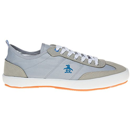 Penguin Burbeck Homme Baskets Mode Gris Grau
