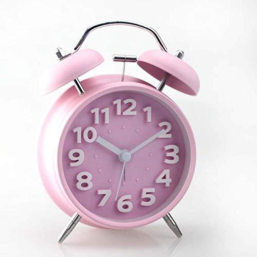 HAO MALL Clásico Reloj Despertador Doble Campana