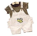 Fascia Bambina Abiti Set 3pcs Completini Geometrica Pantaloni Lettera Camicia Cime Neonata Maniche Lunghe Tops