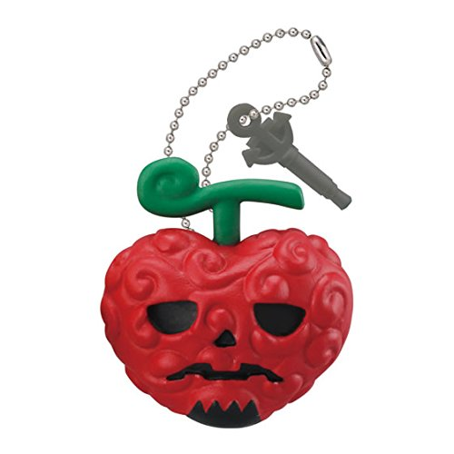From TV Animation One Piece Double Phone Jack Mascot Figure Swing Keychain ~Halloween~Ope Ope no Mi Op-Op Fruit