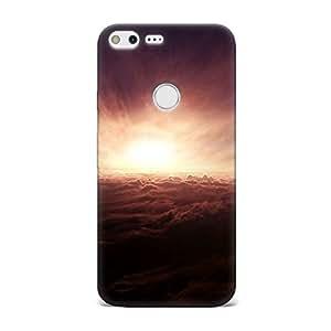 Qrioh Printed Designer Back Case Cover for Google Pixel - 107M-MP3881