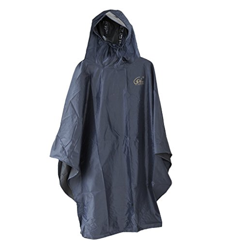 Generic Bike Cycling Bicycle Adult Unisex Hood Waterproof Cover Raincoat