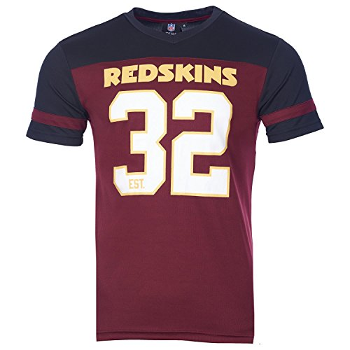 Majestic NFL Poly-Mesh Jersey Shirt - Washington Redskins L (Mesh-jersey Athletic)