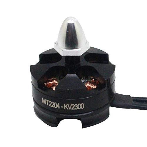 Bescita6 4PC MT2204 2300KV CW/CCW Brushless Motor für Mini Quadcopter Gewinde Schwarz Im Uhrzeigersinn Bürstenloser Motor gegen den Uhrzeigersinn (2 pc)