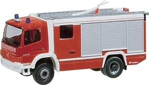 Faller Car System 161578 Car System - Fire Brigade MB Atego RLFA AT 2000 Rosenbauer
