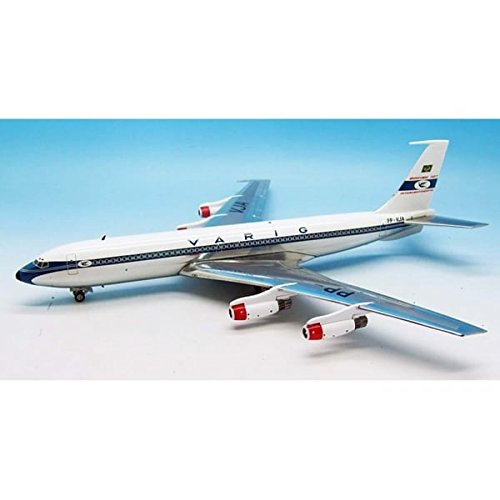 inflight-200-varig-boeing-707-400-pp-vja-polished-with-stand-1200-scale
