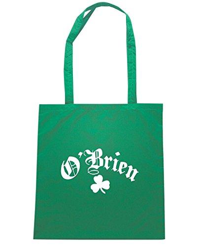 T-Shirtshock - Borsa Shopping TIR0160 obrien classic irish dark tshirt Verde