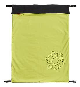 Byboom Softshell Decke 70x100 Cm Thermo Aktiv Funktions Universal Outdoor Babydecke Für Kinderwagen Buggy Jogger Farbe Limette Schwarz Baby