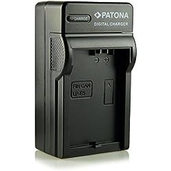 PATONA 3en1 Chargeur pour Batterie LP-E5 pour Canon EOS 1000D 450D 500D Rebel T1i XS Xsi et bien plus encore