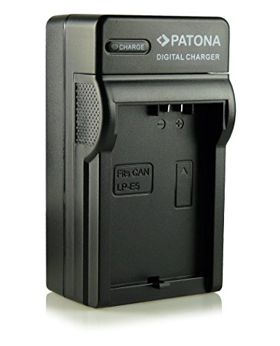 3in1 Caricatore LP-E5 per Canon EOS 1000D | EOS 450D | EOS 500D | EOS Rebel T1i | EOS Rebel XS | EOS Rebel Xsi e più…