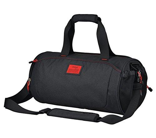 Everdoss Unisexe Sac à bandoulière en Nylon de Grande capacité Sac à Main Sac porté épaule Bagage à Main Sac de Voyage Sac de Sport