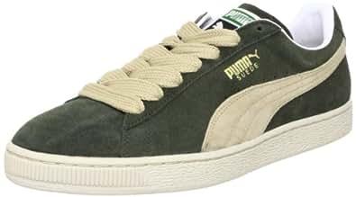 Puma Suede Classic+ 352634, Herren Sportive Sneakers, Grau (forest night-puma khaki new 43), EU 40 (UK 6.5) (US 7.5)