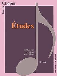 Partition - Chopin - Etudes - pour piano