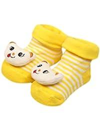 koly Niños recién nacidos de la historieta Muchachos Anti-Resbalón Calcetines Zapatilla Zapatos Botas