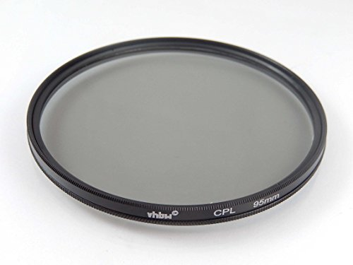 vhbw Universal CPL-Pol-Filter 95mm für Kamera Canon Casio Pentax Olympus Panasonic Sony Nikon Ricoh Sigma Tamron Samsung Fujifilm Agfa Minolta Kodak.