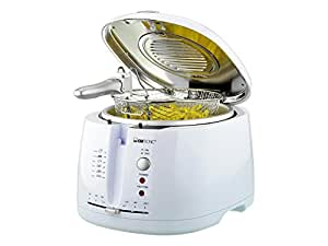 Clatronic Friteuse FR 2881 2 Litres- 1600W (blanc)