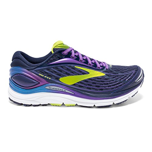 Brooks Transcend 4, Scarpe da Ginnastica Donna Peacoat/Purple