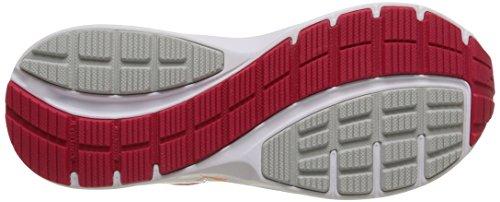 Puma Descendant V3, Chaussures de Running Compétition Femme Rouge (Rose Red/Puma Silver/Fluo Peach)