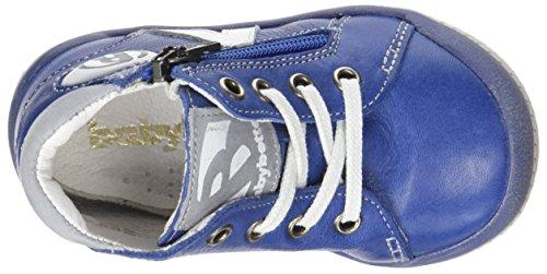 Babybotte B3, Baskets Hautes Garçon Bleu (Cobalt)