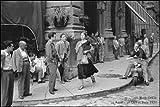 Bilder & Rahmen HB–Orkin Ruth American Girl in Italy, 1951Rahmen, Kunstdruck auf Holz, Poster auf Holz, Rand sch
