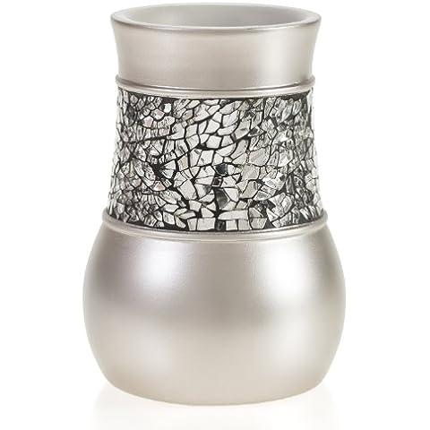 Creative Scents vaso de níquel cepillado