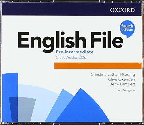 English File 4th Edition Pre-Intermediate. Class Audio CD (3) (English File Fourth Edition)