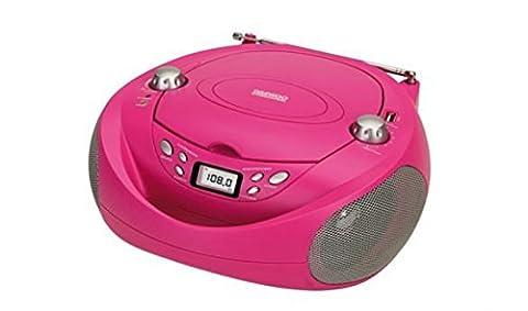 Daewoo DBU-37BL–CD-Radio (USB, Digital, FM),
