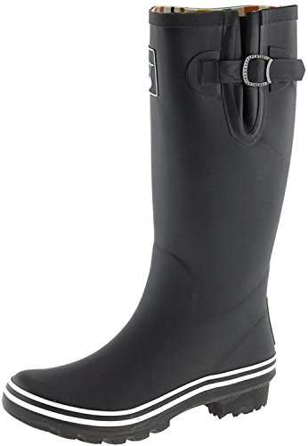 Ladies Plain Natural Colours Evercreatures Tall Wellies Rain Wellington Boots (UK 3-8)